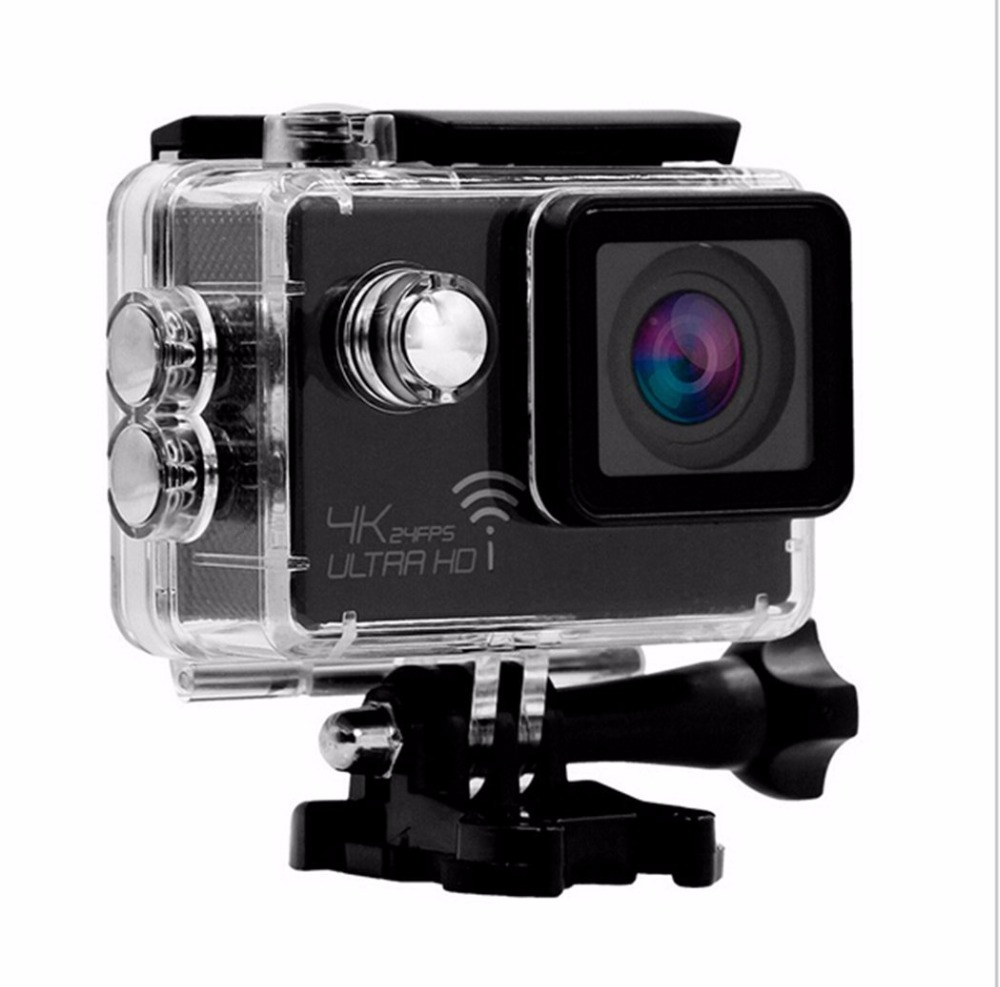 Professional Wifi FPV Camera SJ8000 Sports DV 2Inch 4K 16MP Outdoor Waterproof Mini-camera RC Quadcopter Drone Helicopter Parts 2 inch 4k 30fps 2 7k 30fps full hd wifi 16mp video camera waterproof sports dv helmet camera