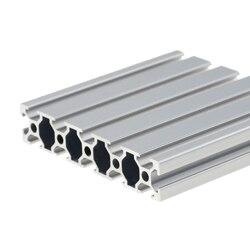1 шт. 20100 алюминиевый профиль экструзии 100-800 мм длина Европейский стандарт анодированный линейный рельс для DIY ЧПУ 3d принтер верстак