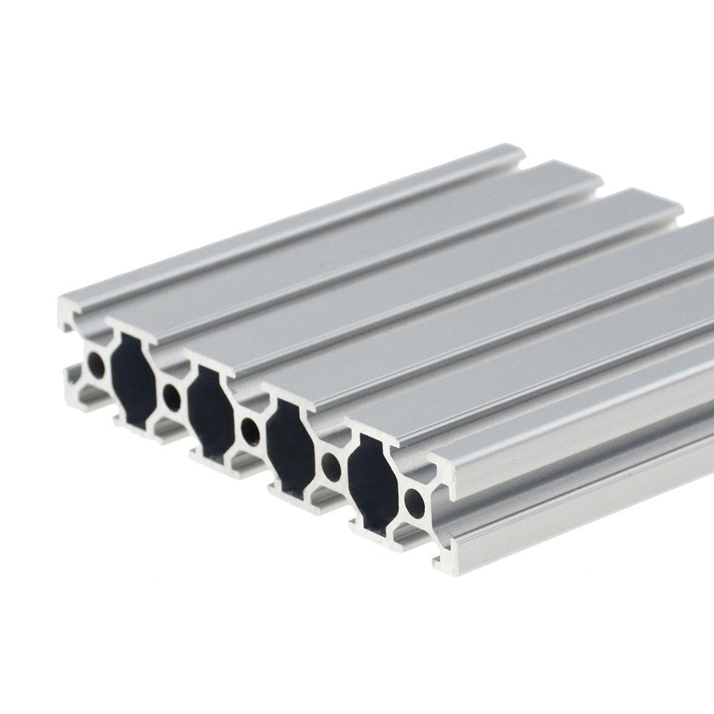 1PC 20100 Aluminum Profile Extrusion 100-800mm Length European Standard Anodized Linear Rail For DIY CNC 3D Printer Workbench