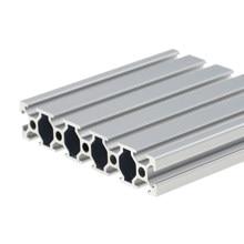 1PC 20100 profil aluminiowy wytłaczanie 100-800mm długość europejski Standard anodyzowana szyna liniowa dla DIY CNC 3D drukarki Workbench