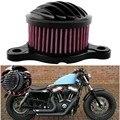 ÁSPERO ARTESANÍA Filtro Aire Para Harley XL 883 1200 48 PIEZAS de METAL
