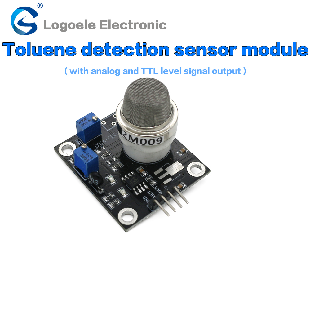 Semiconductor toluene detection sensor sensor module qualitative detection