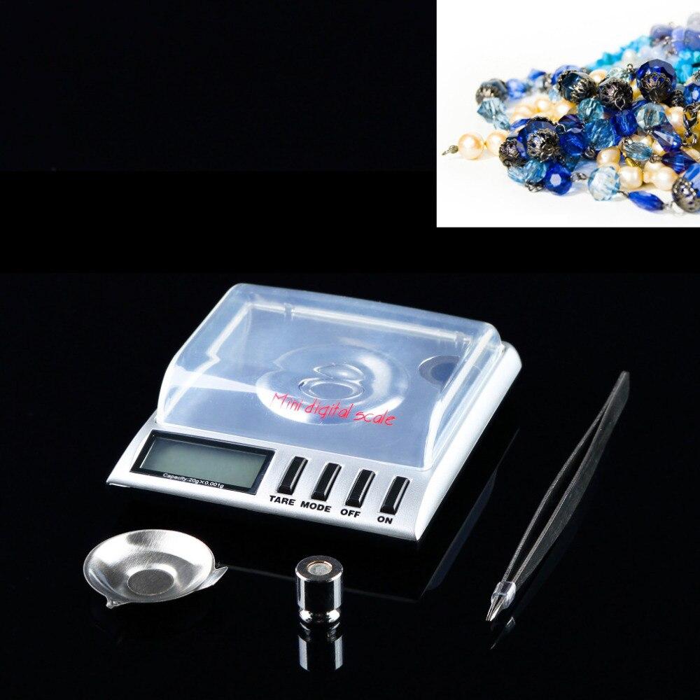 1 pc 20g x 0.001g électronique Échelle grammes AMW Gemini bilancia balanza Numérique Milligramme/Gram pocket bijoux échelle électronique