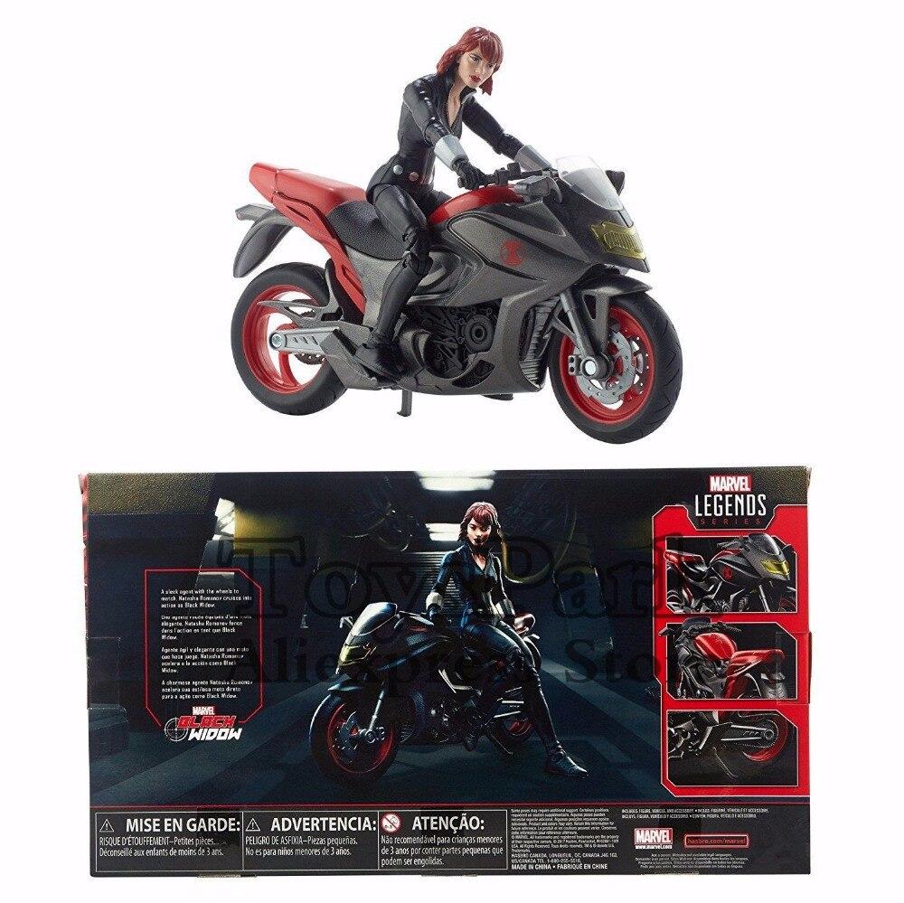 """Oyuncaklar ve Hobi Ürünleri'ten Aksiyon ve Oyuncak Figürleri'de 2018 Marvel Legends Serisi Ghost Rider Siyah Dul 6 """"Action Figure Ile Motosiklet Ultimate Alev Döngüsü Bebek Modeli Koleksiy'da  Grup 3"""