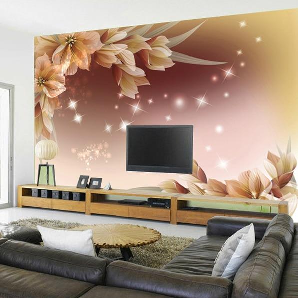 US $13.04 20% OFF|3D fototapete chinesischen stil Schmetterling in Liebe  blume schlafzimmer wohnzimmer sofa TV hintergrund wandbild wand papier in  3D ...