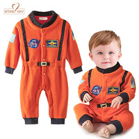 Nyan Cat Baby Boys Astronaut Costumes Infant Halloween Costume For Toddler Boys Kids Space Suit Jumpsuit