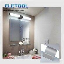 цены Wall Lamp 12W 85-265V Led Mirror Light Waterproof LED Tube Modern Acrylic Wall Light Bathroom Lighting XF30