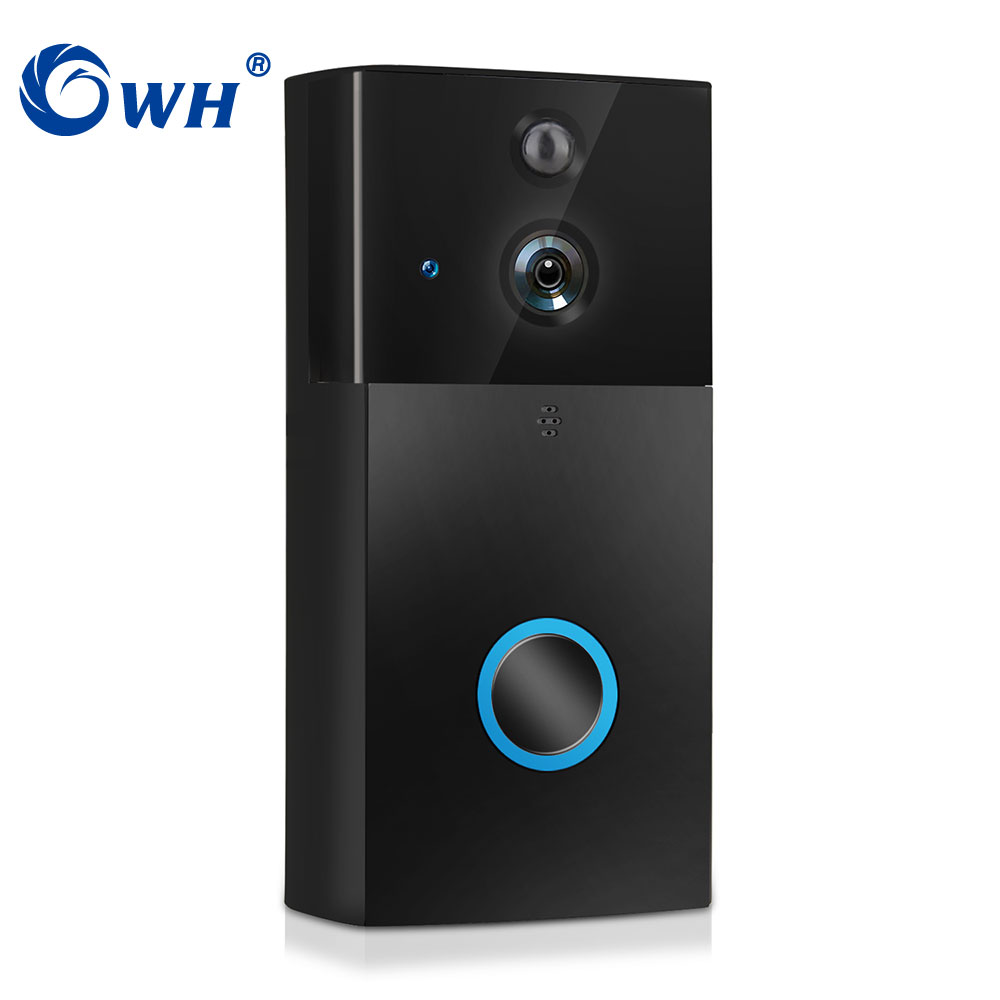 CWH 720P Wireless WiFi Video Doorbell Camera With Night Vision Two Way Audio Battery Dingdong Phone