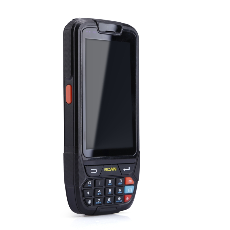 Free Shipping PDA 2D Handheld Terminal Support Wifi Bluetooth 4g GPS Camera Mini Barcode Scanner For Android Tablet Pc Keyboard