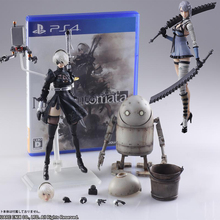 NieR Automata YoRHa No. 2 Type B figma 2B Machine Lifeform Kaine Nier action figure doll model toy nier automata