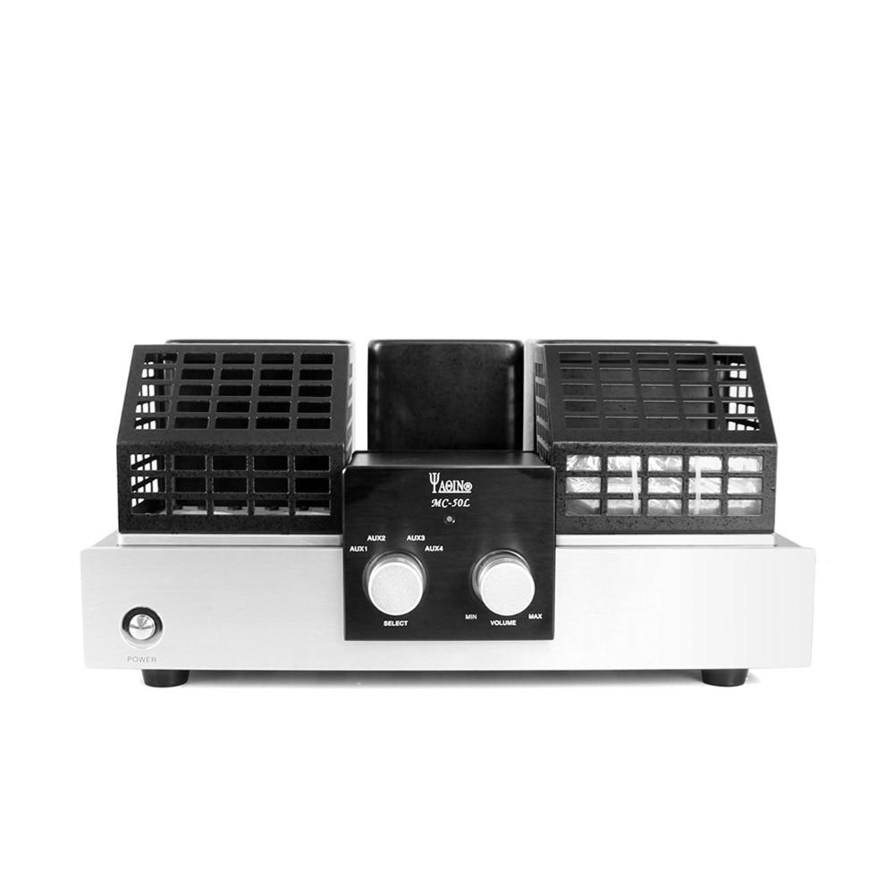 YAQIN MC-50L MC50L Integrated Vacuum Tube Amplifier SRPP Circuit KT88(6550) ultra-linear class AB1 Power amplifier 2x50W  цены