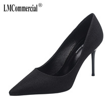 Spring Autumn High-heeled Shoes italian shoe and bag set for party in women luxury women shoes Sexy Stiletto Shoes Woman Ladies new fashion italian shoes with matching bags for party african shoes and bag set good quality shoes for lady emf7213 5