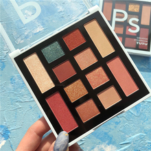 Professional Makeup Palette 12 Color Eyeshadow Pallete Shimmer Glitter Matte Pigment Cosmetic