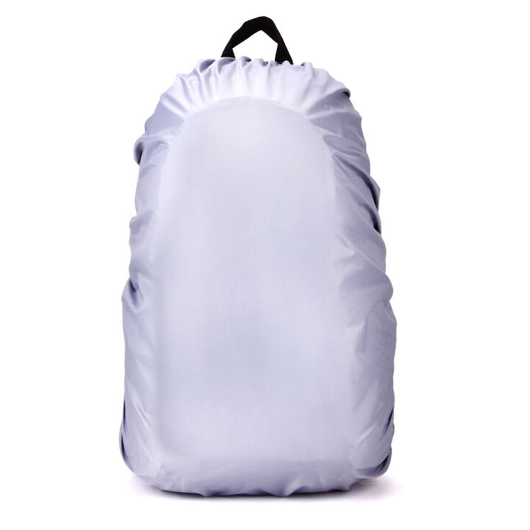 New Waterproof Travel Accessory Backpack Dust Rain Cover 60L,Silver
