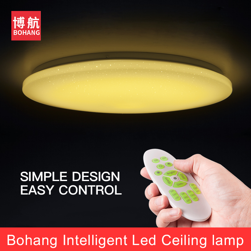 Moden LED Ceiling Lights Color Change Ceiling Lamp 25W 380mm Smart Remote Control Dimmable Bedroom Living Room Eye protected