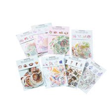 30pack/lot Creative Flower Building Animal Label Stickers Diary Scrapbooking Sticker Albums Photo Decor Childrens
