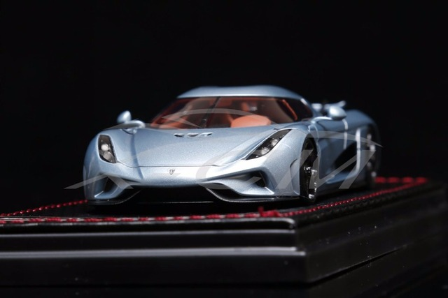 Resin Car Model SophiArt Koenigsegg Regera 1:43 (Blue) + SMALL GIFT on