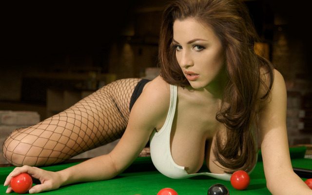 P Hot Sexy Girl Billiard Sport Poster Wall Sticker Home Decor Canvas Printings Xinch