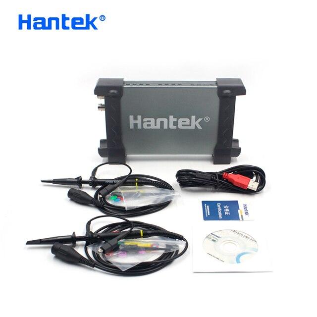 Hantek официальный 6022BE портативных ПК USB цифровой Виртуальный осциллограф 2 Каналы 20 МГц Ручной портативный Osciloscopio