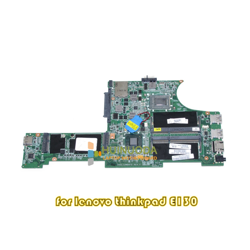 NOKOTION for lenovo thinkpad edge E130 laptop motherboard 04W4188 DA0LI2MB8F0 HM77 i3-2367M DDR3 fru 63y1896 for lenovo thinkpad w510 laptop motherboard qm67 ddr3 nvidia quadro fx 880m 15 6 inch