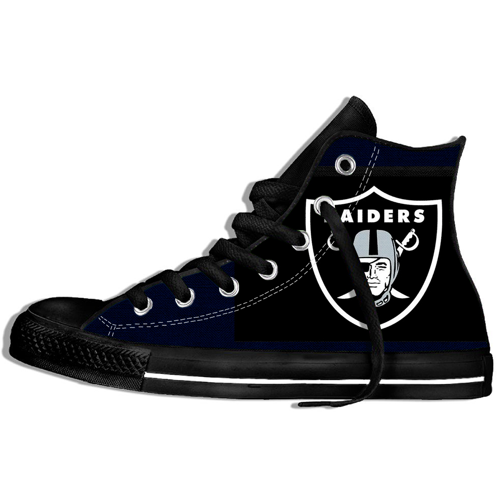 2019 New Men And Women Sport Shoes Shoes Raiders Light Weight Game Shoes Fashion High Top Sneakers