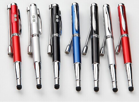Free Shipping 5 In 1 Promotional Multi Function Metal Ball