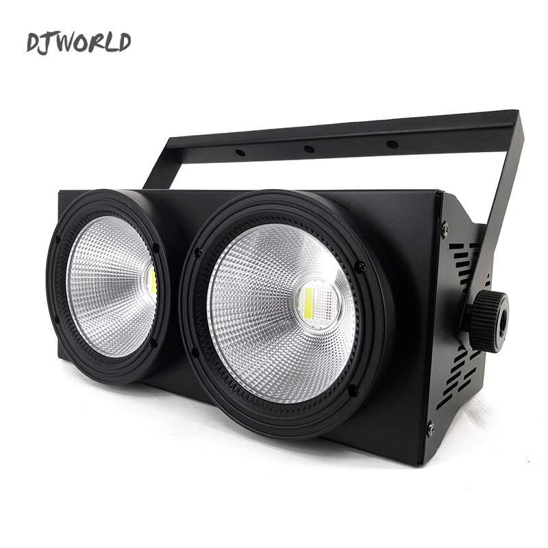 Image 3 - 2 Eyes LED 200W COB Par Light  RGBWA+UV 6in1 DMX 512 Lighting For Professional Large Stage Theater Spectator Seat-in Stage Lighting Effect from Lights & Lighting