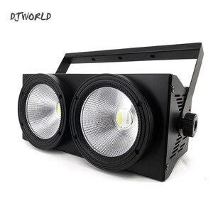 Image 3 - 2 مصابيح LED للسيارات على شكل عيون 200 واط COB مصباح موازي المستوى RGBWA + UV 6in1 DMX 512 الإضاءة لمقعد مسرح مسرح كبير المهنية