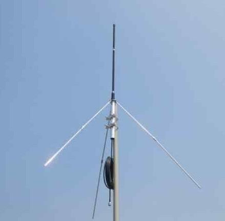 1 4 wave Professional GP Antenna for 5w 150w FM Transmitter