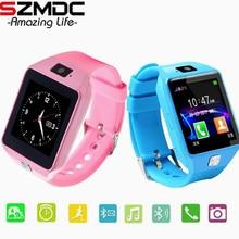 Купить с кэшбэком SZMDC Smart Watch DZ09 Support SIM TF Cards For Android IOS Phone Children Camera Women Bluetooth Watch With Retail Box Russia