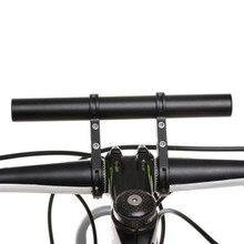 Углеродная трубка держатель велосипеда фонарик Ручка Бар Аксессуары для велосипеда удлинитель кронштейн 3 цвета