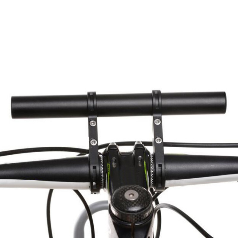 Carbon Tube Bike Flashlight Holder Handle Bar Bicycle Accessories Extender Mount Bracket 3 Colors New bike handlebar extender for bicycle light bell computer handle ba mount carbon fiber aluminium alloy bicycle handle bar extender