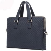 2017 Brand Design Men Genuine Real Leather Briefcase Business Bags Male Computer Laptop Handbags Messenger Bags bolsas male