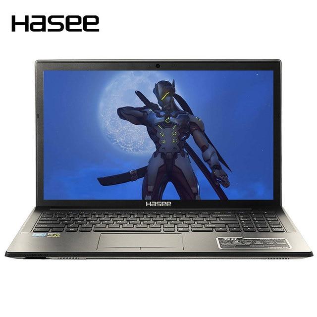 "HASEE K670D-G4D1 ноутбука Тетрадь PC 15,6 ""ips 1920*1080 HD Дисплей для Intel G4560 процессоры GTX1050 4G GDDR5 8 ГБ DDR4 1 ТБ HDD"