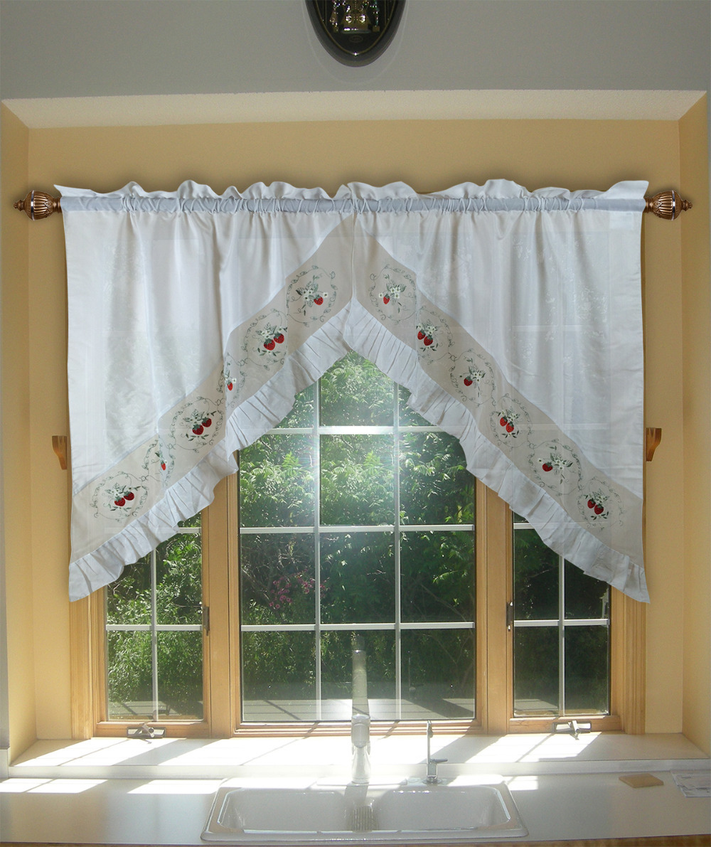 products tier pocket curtains rod brick marburn swags swag valances orleans red val and valance