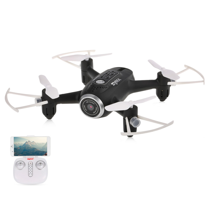SYMA Drone with WiFi Camera Real-time Transmission FPV Quadcopter 2.4G 4CH RC Helicopter Quadrocopter Toys syma x56 rc drone 4ch remote control helicopter foldable quadcopter 2 4g hover without camera real time sharing headless toys