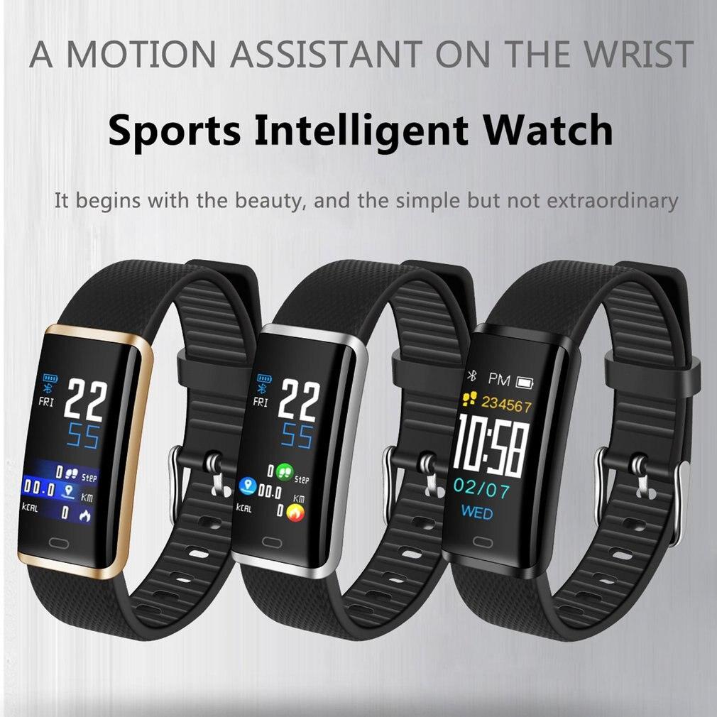 R9 fitness Montre Bracelet À Puce Couleur Affichage Smartwatch Fitness Connecter À App Bluetooth À Distance Photographie Interface Principale
