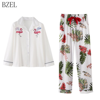 BZEL  Autumn Cotton Pajamas For Women Sleepwear