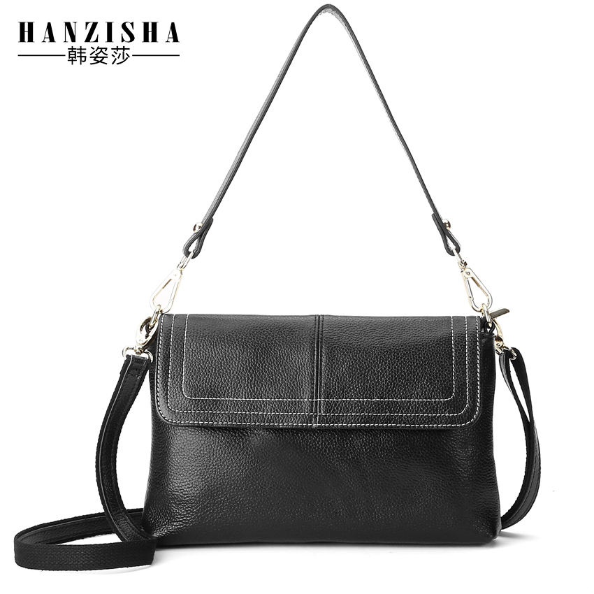 New Arrival 100% Genuine Leather Women Messenger Bag Famous Brand Bag Women Shoulder Bag Fashion Leather Women Crossbody Bag
