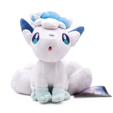 10pcs/set 20cm Alola Vulpix Soft Plush Toys Anime Peluche Stuffed Dolls For Child Baby Toy Wholesale Price
