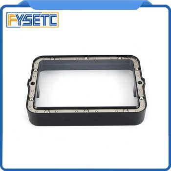 Material Rack Black 178*120mm With 5pcs FEP Film For DLP SLA Wanhao D7 3D Printer Anodized Aluminium Resin Vat Steel Ring