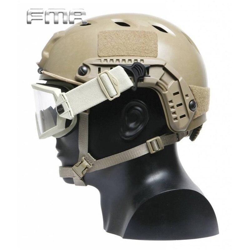 FMA Быстрый шлем, шарнирные зажимы, набор для шлема, боковые рельсы, Wargame, пейнтбол, airsoft, тактический бой, крепление, шлем, аксессуар
