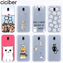 Ciciber Cat Kitten สำหรับ Samsung Galaxy J6 J5 J8 J7 J4 J3 J2 J1 Pro Core Prime mini plus 2016 2017 2018 Soft TPU Coque(China)