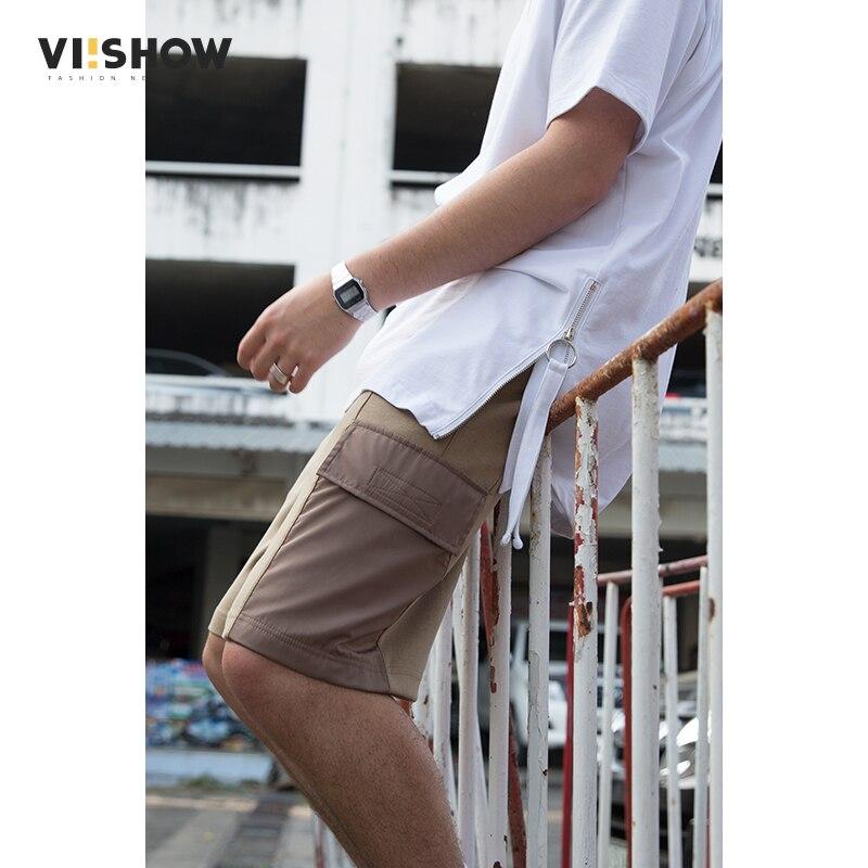 VIISHOW 2018 Summer Armygreen Cargo Shorts Men Flap Pocket Durable Casual Short Male High Quality korte broek mannen KD1473182