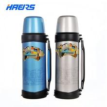 Haers 1000 ml Kleine Mund Thermos BPA FREI 304 Edelstahl Vakuumisolierte 12-24 Stunden LY-1000A-5