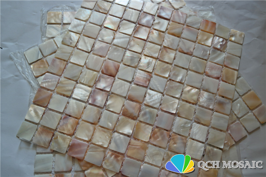 Купить с кэшбэком Natural freshwater shell mother of pearl mosaic tile for kitchen splash back and bath room natural color 11 square feet/lot