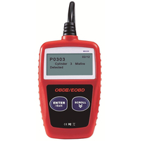 Automotive Car Auto Diagnostic Tools 16 Pin Obdii Standard Socket Fit Lcd Backlit Screen Retrieve Cars Ecu Cars Vin Number