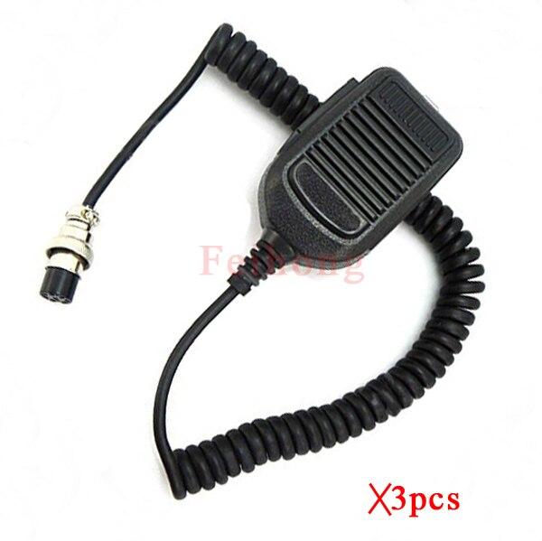 3 шт./лот портативный динамик/микрофон Hm-36 для BMW Icom двухстороннее радио Ic-28, Ic-7800, Ic-746, Ic-718, Ic-900, Ic-756, Ic-3200, Ic-7200