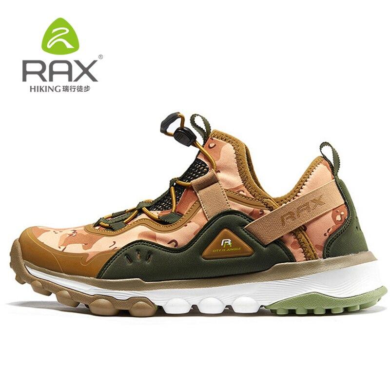 RAX nouvelles femmes chaussures de randonnée chaud respirant chaussures de marche en plein air sans lacet de haute qualité femmes baskets 60-5C345