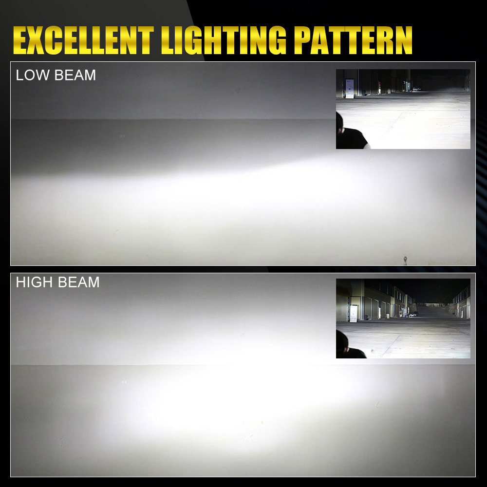 BraveWay 20000LM LED Lamp for Auto H1 H4 H8 H9 H11 HB3 HB4 9005 9006 H7 LED H7 Canbus H11 LED Bulb for Car Light Bulb Automoveis in Car Headlight Bulbs LED from Automobiles Motorcycles